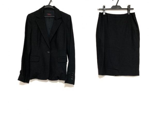 M-PREMIER(エムプルミエ) スカートスーツ サイズ38 M レディース美品  黒
