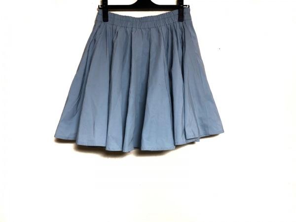 ミューズデドゥーズィエムクラス スカート サイズ38 M レディース ライトブルー
