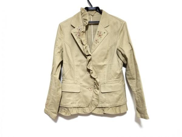 INGEBORG(インゲボルグ) ジャケット サイズM レディース美品  ライトブラウン