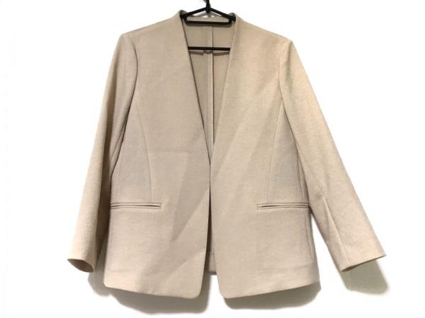 SHIPS(シップス) ジャケット サイズ36 S レディース美品  ベージュ