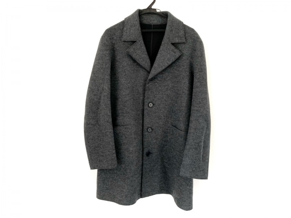 ユナイテッドアローズ コート サイズM メンズ グレー 冬物/チェスターコート