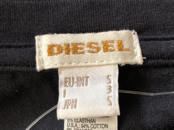 DIESEL(ディーゼル) 半袖Tシャツ サイズS メンズ 黒