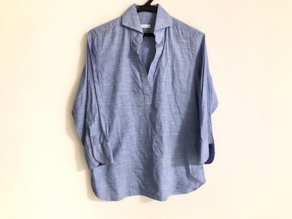 ORIAN(オリアン) 長袖カットソー サイズ40 M レディース ブルー