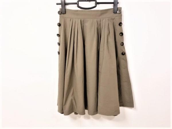 アプワイザーリッシェ スカート サイズ2 M レディース ダークブラウン