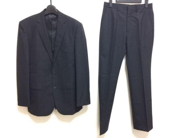 COMME CA ISM(コムサイズム) シングルスーツ サイズS メンズ ダークネイビー シングル