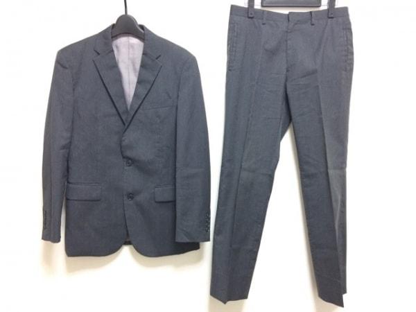 COMME CA ISM(コムサイズム) シングルスーツ サイズS メンズ グレー シングル