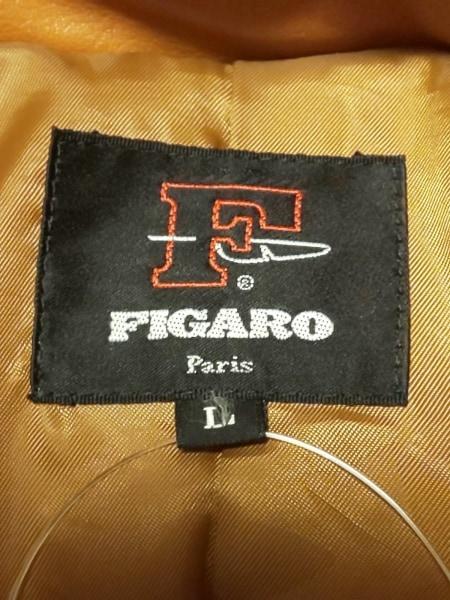 FIGARO(フィガロ) コート サイズL メンズ ブラウン 冬物/レザー