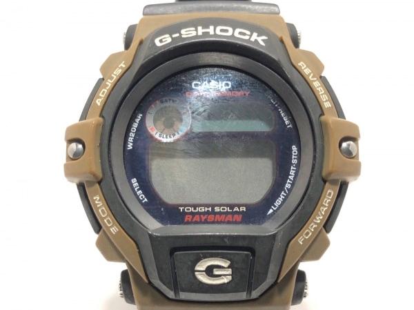 CASIO(カシオ) 腕時計 G-SHOCK DW-9350 メンズ RAYSMAN/ラバーベルト 黒