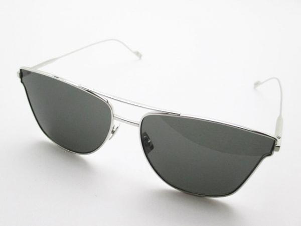 サンローランパリ サングラス美品  SL51T シルバー×黒 金属素材×プラスチック