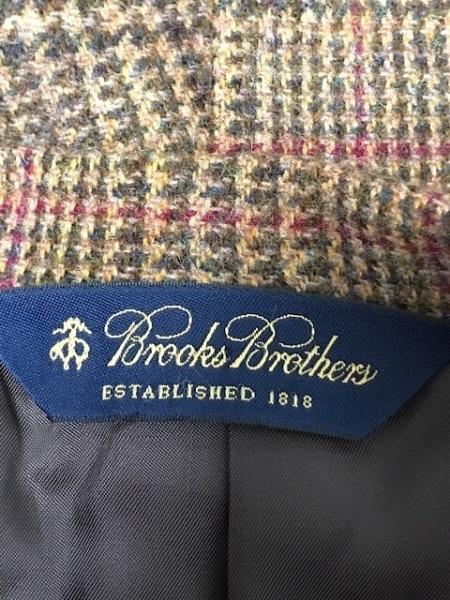 BrooksBrothers(ブルックスブラザーズ) ジャケット サイズ39 メンズ ブラウン×レッド