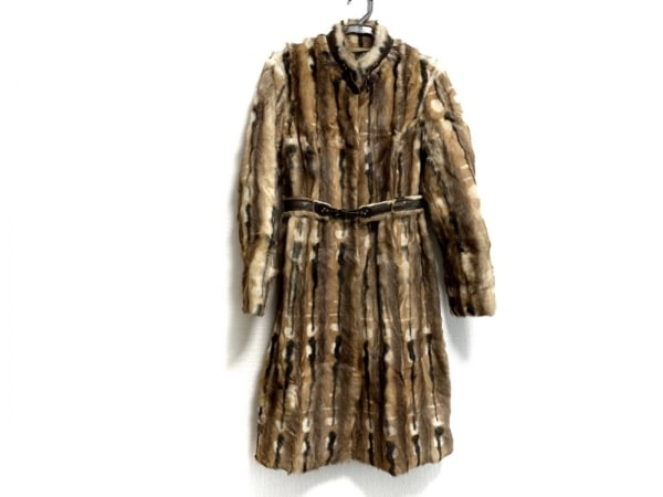 PAOLA FRANI(パオラ フラーニ) コート サイズ40 M レディース美品  ファー
