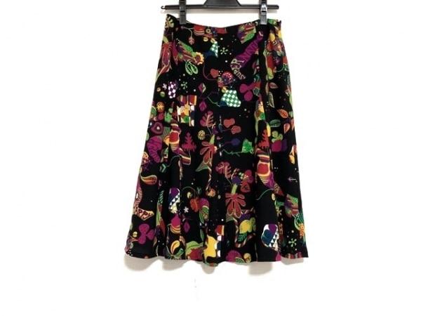 SONIARYKIEL(ソニアリキエル) スカート サイズ38 M レディース 黒×マルチ