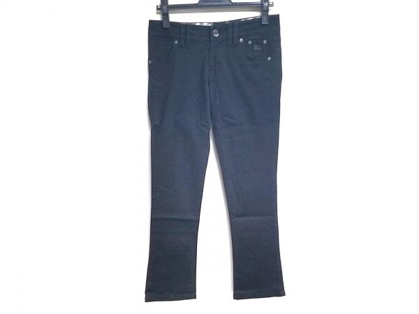 バーバリーブルーレーベル パンツ サイズ38 M レディース美品  黒