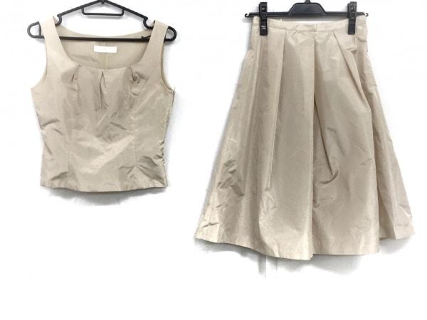 ストロベリーフィールズ スカートセットアップ サイズ1 S レディース美品  ベージュ