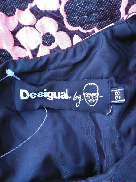 Desigual(デシグアル) ワンピース サイズ36 M レディース新品同様  ベージュ×黒