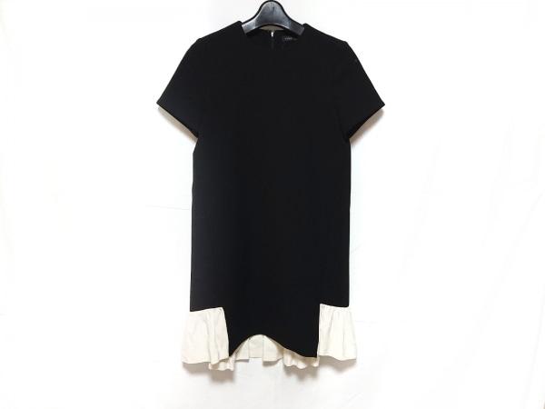 YOKO CHAN(ヨーコ チャン) ワンピース サイズ36 S レディース 黒×白 半袖