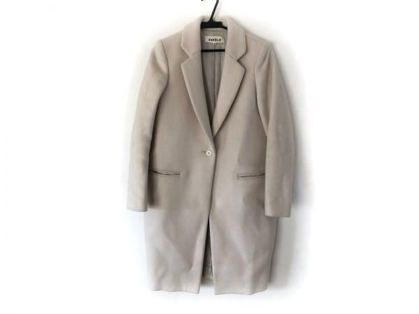 ENFOLD(エンフォルド) コート サイズ36 S レディース美品  アイボリー 冬物