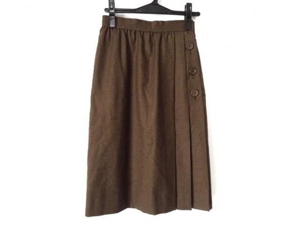 ジバンシー スカート サイズ8 M レディース新品同様  ブラウン NOUVELLE BOUTIQUE
