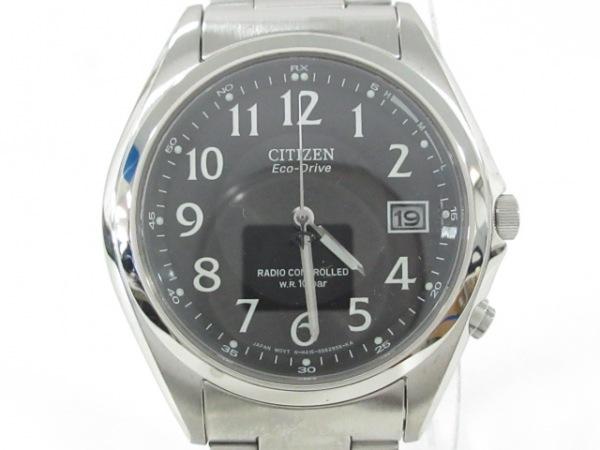 CITIZEN(シチズン) 腕時計美品  H415-S038278 メンズ エコドライブ 黒