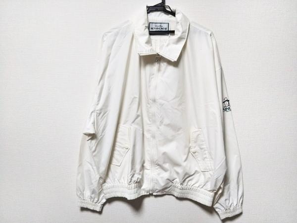 Munsingwear(マンシングウェア) ブルゾン サイズEL メンズ美品  アイボリー 春・秋物