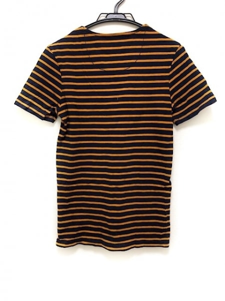 ジースターロゥ 半袖Tシャツ サイズXXS XS メンズ美品  ダークネイビー×オレンジ