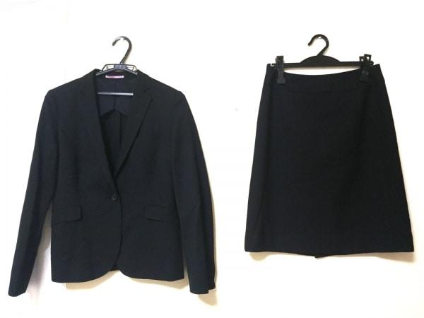 RHYME(ライム) スカートスーツ レディース美品  黒 ORIHICA