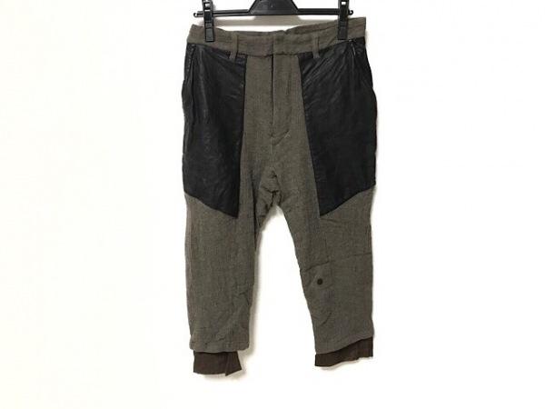 ダイエットブッチャースリムスキン パンツ サイズ2 M メンズ ダークグレー×黒