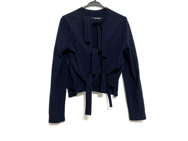 CELINE(セリーヌ) 長袖セーター サイズS レディース美品  ネイビー バックリボン