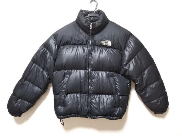 ノースフェイス ダウンジャケット サイズL/G L メンズ 黒 ジップアップ/冬物