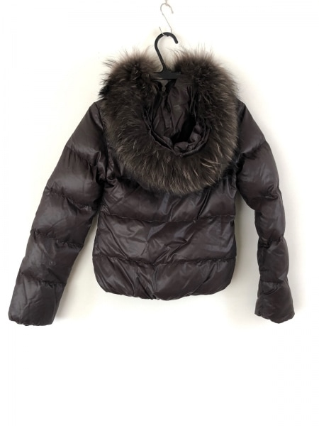 デュベティカ ダウンジャケット サイズ36 S レディース美品  Adhara ダークブラウン