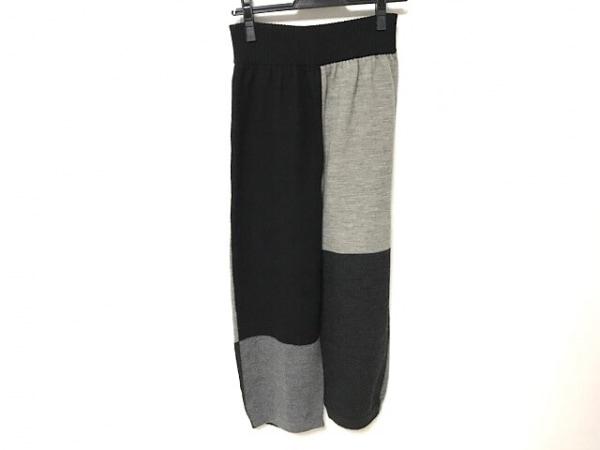 FUGA FUGA(フガフガ) パンツ サイズF レディース美品  黒×ライトグレー×グレー