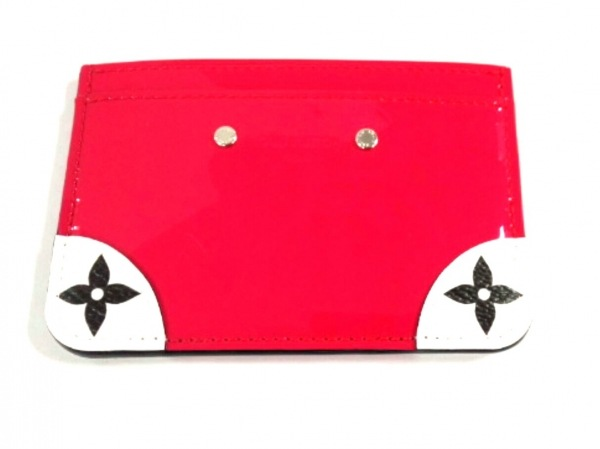 ルイヴィトン カードケース ヴェルニミロワール美品  ポルトカルト・サンプル M67639