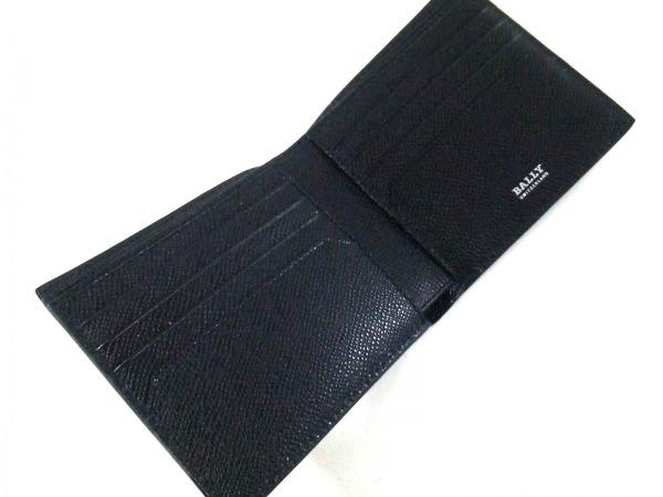 バリー 札入れ新品同様  トラサイ 6222053 黒×レッド×白 レザー 3