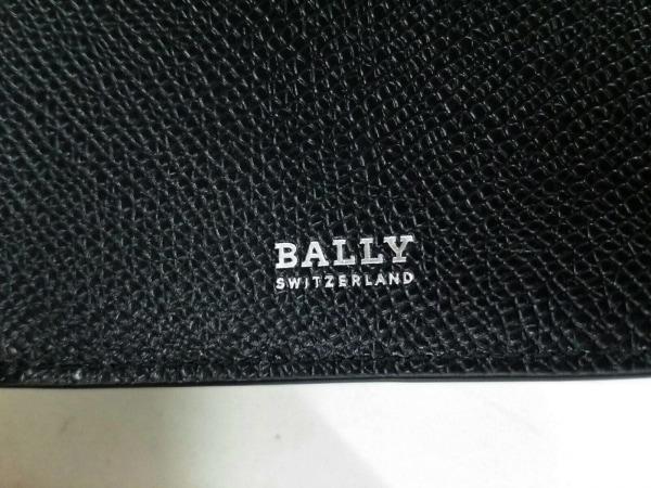 バリー 札入れ新品同様  トラサイ 6222053 黒×レッド×白 レザー 5
