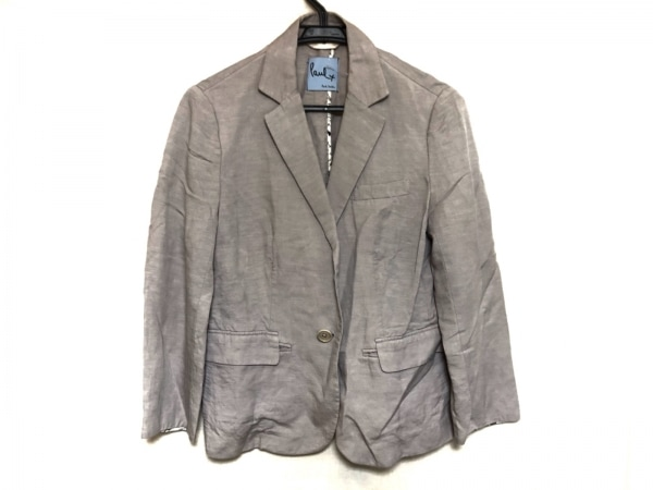 ポールスミスプラス ジャケット サイズ42 XL レディース美品  ピンク