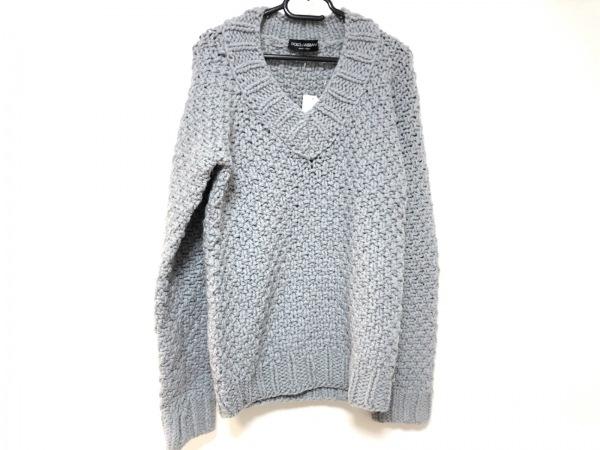 DOLCE&GABBANA(ドルチェアンドガッバーナ) 長袖セーター メンズ グレー
