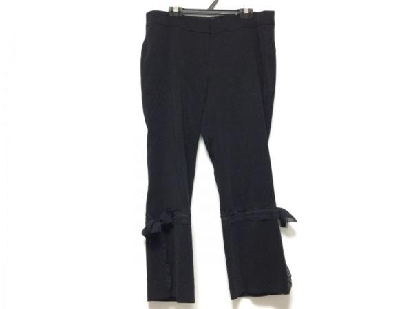 TO BE CHIC(トゥービーシック) パンツ サイズ42 L レディース 黒 リボン