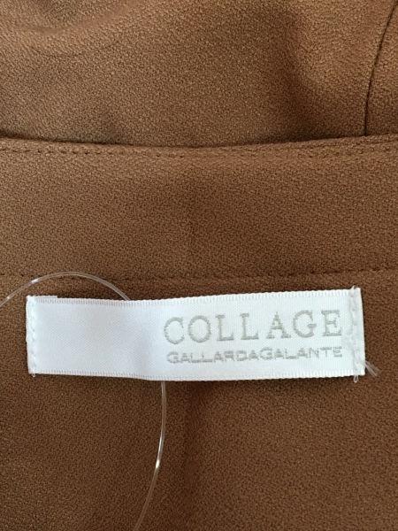 ガリャルダガランテ ジャケット サイズF レディース ブラウン COLLAGE