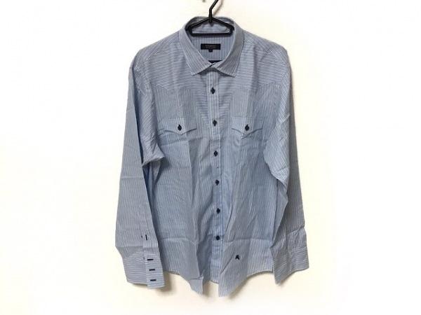 バーバリーブラックレーベル 長袖シャツ サイズ3 L メンズ美品