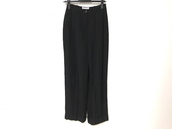 EMPORIOARMANI(エンポリオアルマーニ) パンツ サイズ40 M レディース 黒