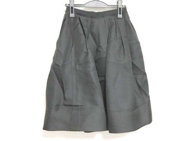 FOXEY(フォクシー) スカート サイズ38 M レディース美品  黒 シルク