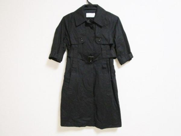 ENCHANTEMENT...?(アンシャントマン) コート サイズ38 M レディース 黒 春・秋物