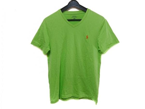POLObyRalphLauren(ポロラルフローレン) 半袖Tシャツ サイズM メンズ ライトグリーン