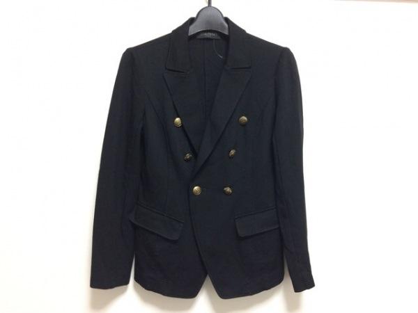 BALMAIN(バルマン) ジャケット サイズ9 M レディース - - 黒 長袖/春/秋