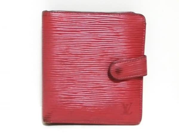 ルイヴィトン 2つ折り財布 エピ ポルト ビエ・コンパクト M63557 レザー