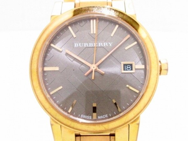 Burberry(バーバリー) 腕時計 BU9005 メンズ ダークブラウン