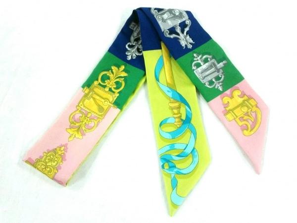 HERMES(エルメス) スカーフ美品  ツィリー H061522S 02 Ferronnerie