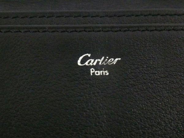 Cartier(カルティエ) 札入れ ハッピーバースデー 黒 レザー 5