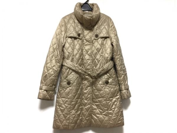 スキャパ ダウンコート サイズ38 L レディース ライトブラウン 冬物/キルティング