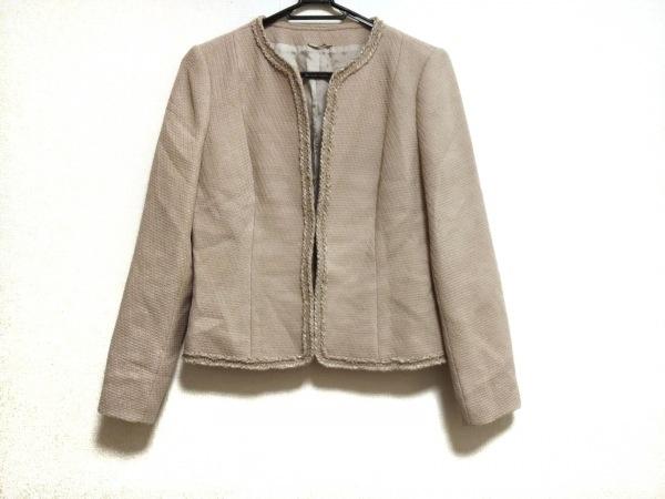 ANAYI(アナイ) ジャケット サイズ38 M レディース美品  ベージュ ツイード